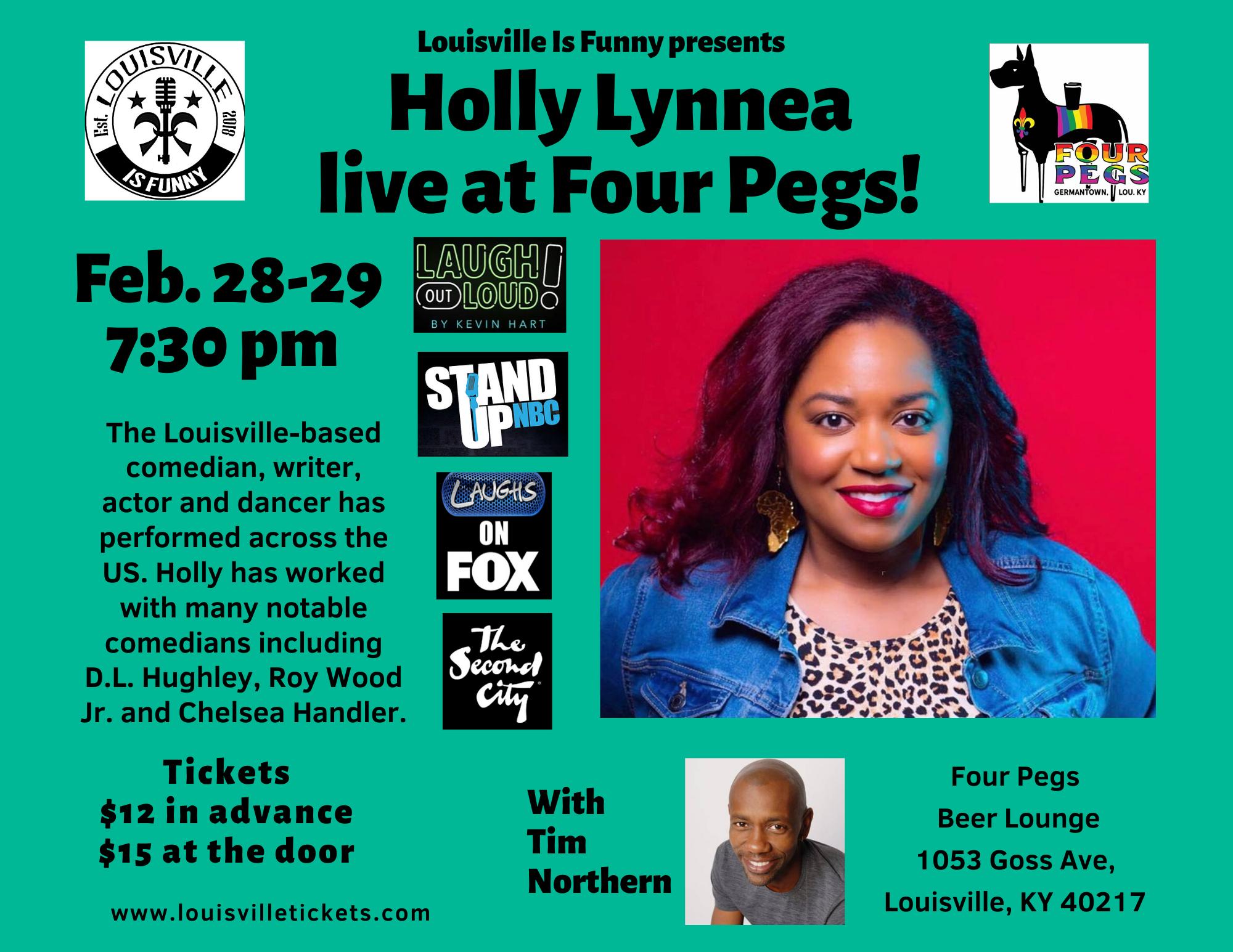 Holly Lynnea Feb. 28-29