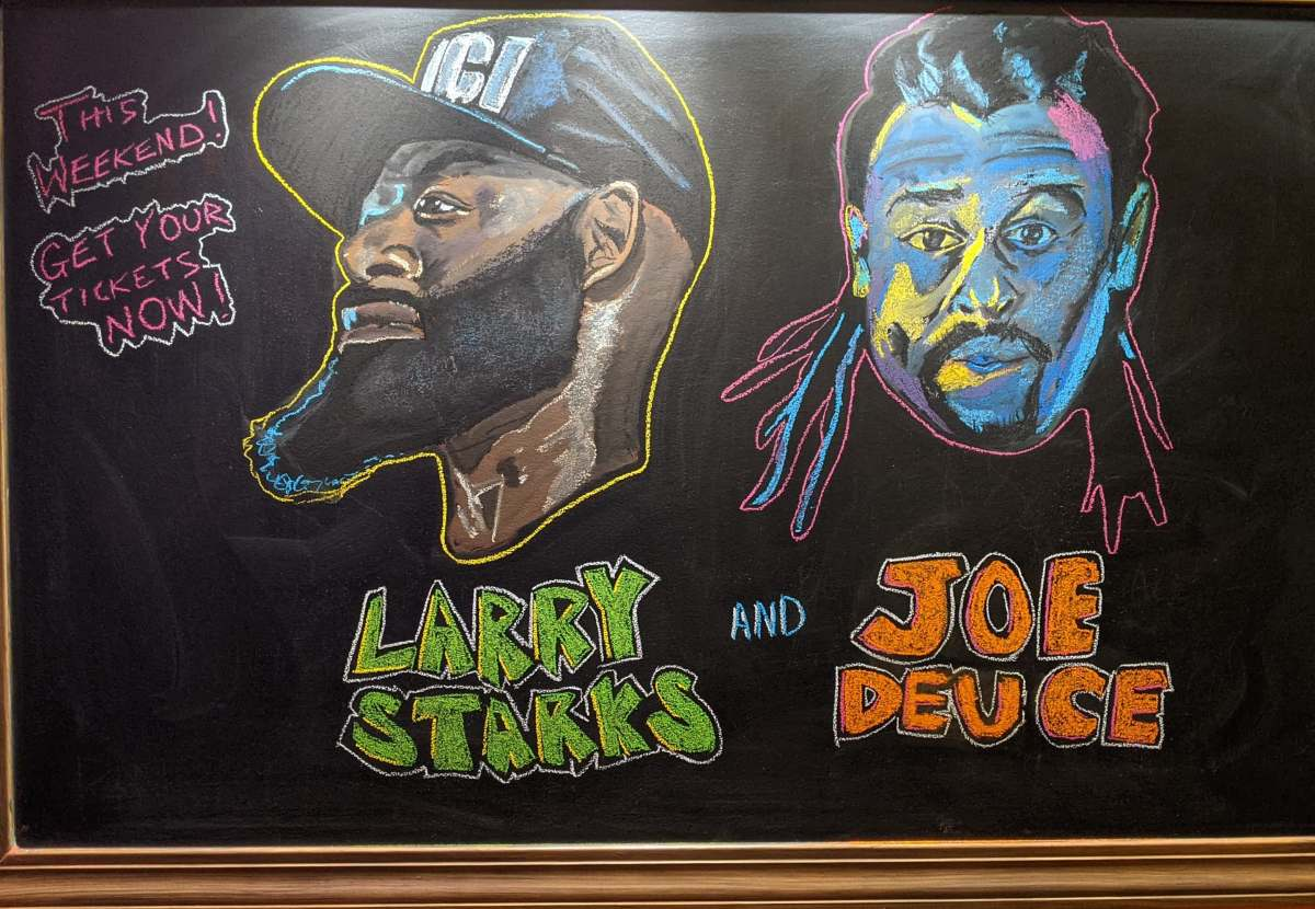 Don't miss Joe Deuce and Larry Starks at Planet of theTapes