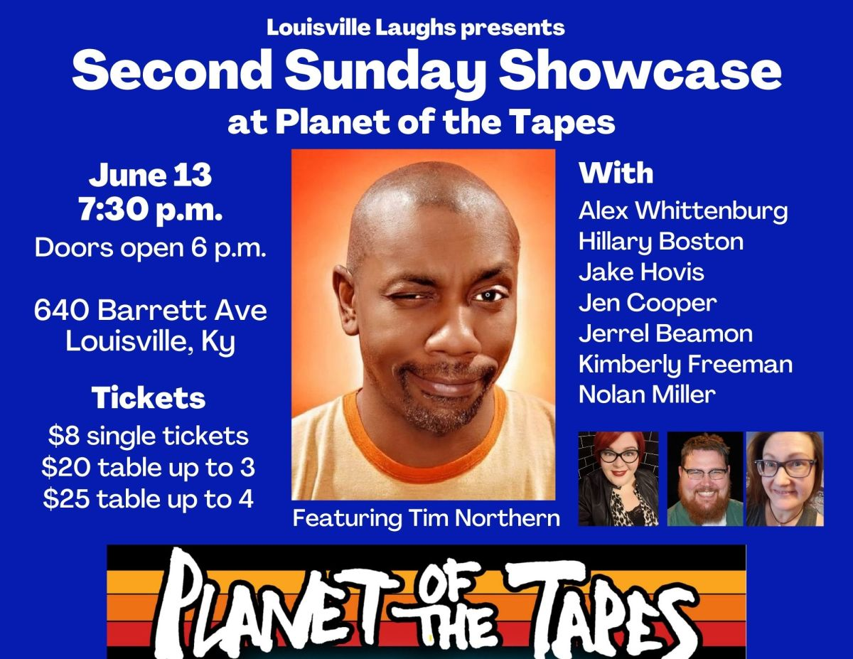 Tim Northern headlines Louisville Laughs showcase at Planet of theTapes