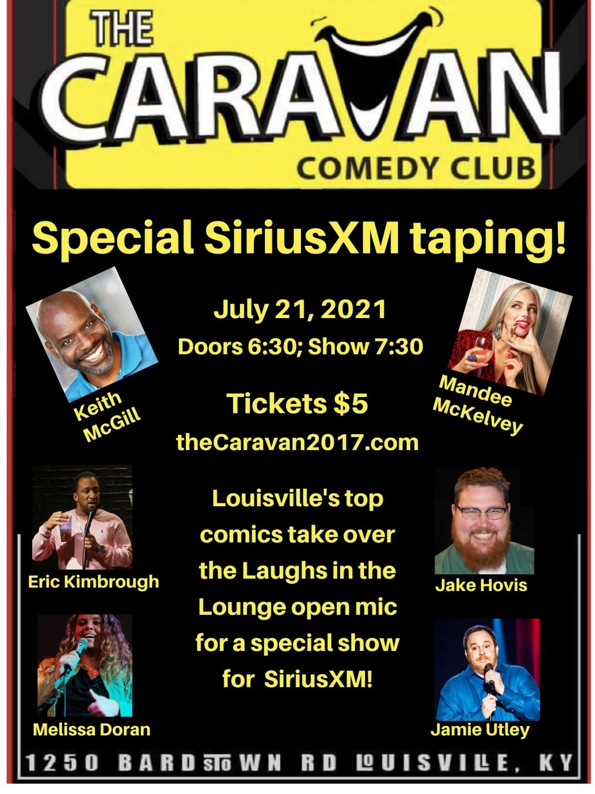 The SUPERLIST of Louisville comedy updated July21